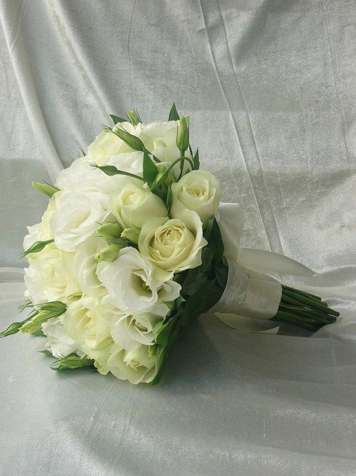 Свадебный букет «Белое облако»