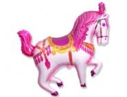 Фигура Лошадь цирковая розовая
