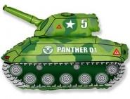 Фигура Танк зеленый