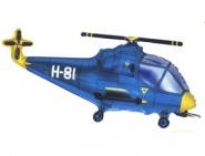 Фигура Вертолет синий