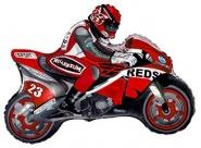 Фигура Мотоциклист красный