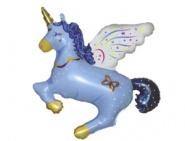 Фигура Единорог синий