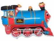 Фигура Поезд синий