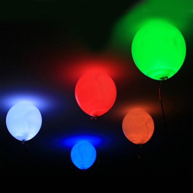 Шар с подсветкой с гелием 12″