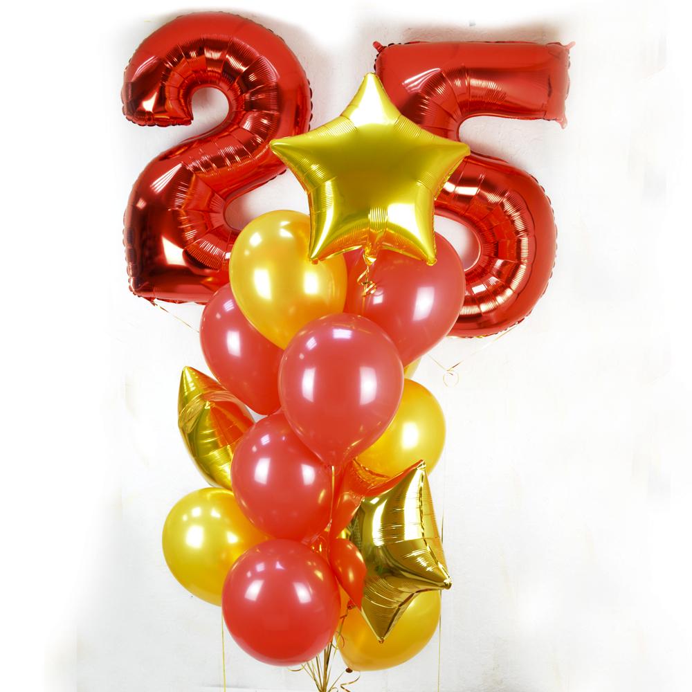 Композиция «С юбилеем 25»
