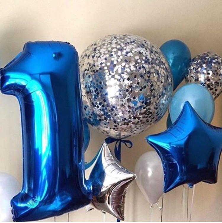 Композиция «1 год синяя»
